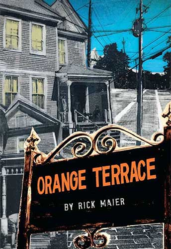 Orange Terrace Book by Rick Maier